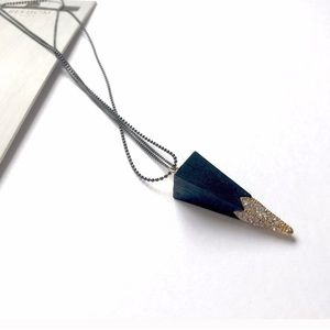 Topshop Jewelry - Topshop Triangle Pendant Necklace